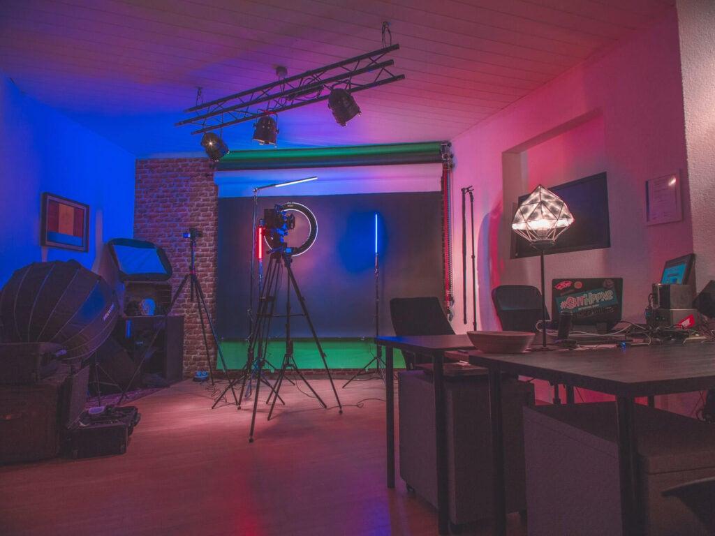 krasse videos studio augsburg Videostudio Greenscreen Studio Fotostudio
